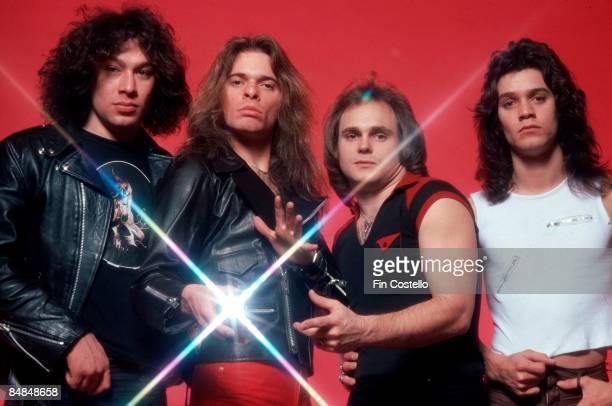 CAMDEN Photo of David LEE ROTH and Alex VAN HALEN and Michael ANTHONY and VAN HALEN and Eddie VAN HALEN LR Alex Van Halen David Lee Roth Michael...