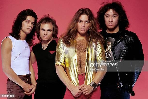 CAMDEN Photo of David LEE ROTH and Eddie VAN HALEN and Alex VAN HALEN and Michael ANTHONY and VAN HALEN LR Eddie Van Halen Michael Anthony David Lee...