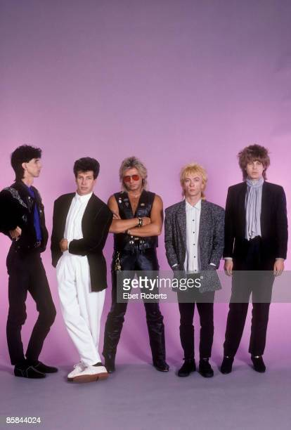 UNITED STATES JANUARY 01 USA Photo of David ROBINSON and CARS and Ric OCASEK and Benjamin ORR LR Ric Ocasek David Robinson Benjamin Orr Greg Hawkes...