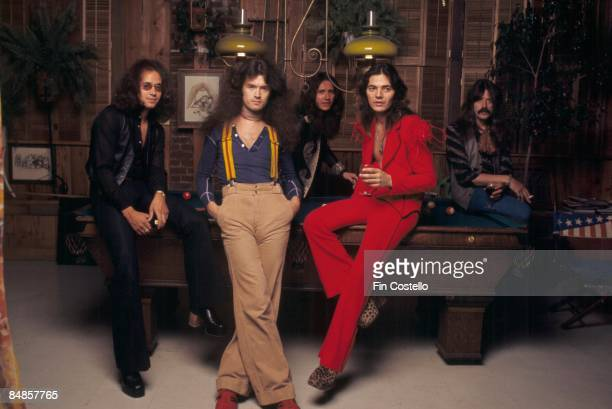 Photo of DEEP PURPLE and David COVERDALE and Tommy BOLIN and Jon LORD and Ian PAICE and Glenn HUGHES LR Ian Paice Glenn Hughes David Coverdale Tommy...