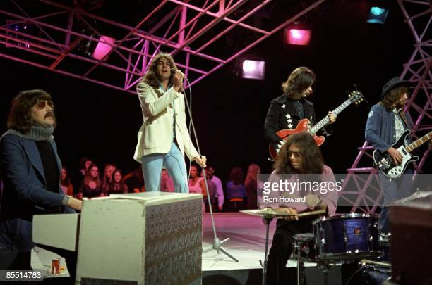 POPS Photo of DEEP PURPLE and Roger GLOVER and Ritchie BLACKMORE and Jon LORD and Ian PAICE and Ian GILLAN LR Jon Lord Ian Gillan Ritchie Blackmore...