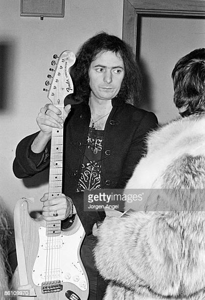 Photo of DEEP PURPLE Ritchie Blackmore Deep Purple Copenhagen March 1975