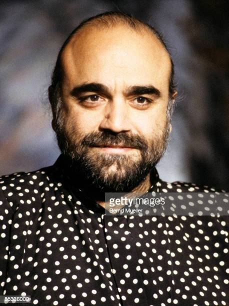 Photo of Demis ROUSSOS Portrait of Demis Roussos on a tv show