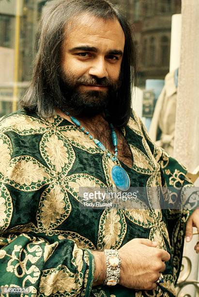 Photo of Demis ROUSSOS Posed portrait of Demis Roussos
