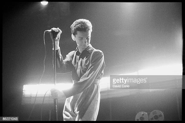 LYCEUM Photo of DEPECHE MODE David Gahan of Depeche Mode at The Lyceum London UK 15 November 1981
