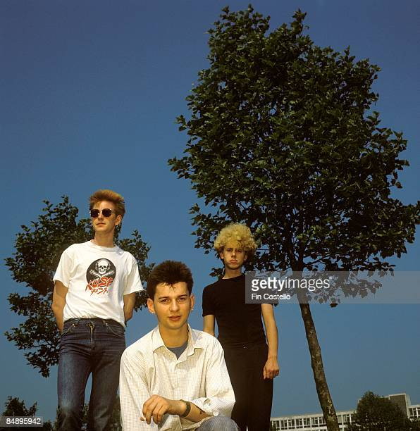 Photo of DEPECHE MODE posed in Basildon