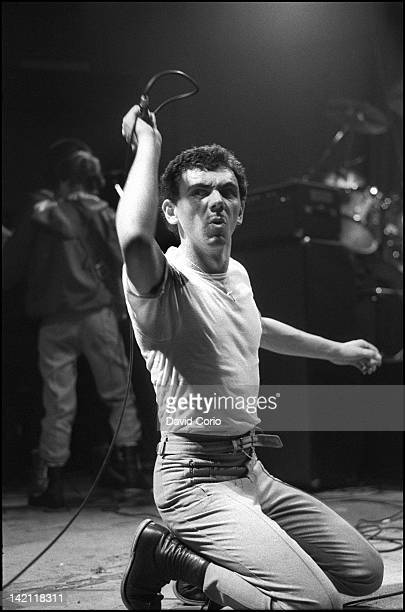Photo of Dexys MIDNIGHT RUNNERS Kevin Rowland of Dexys Midnight Runners performing at the The Venue London in 1981