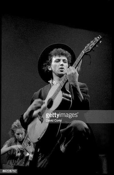 VENUE Photo of DEXYS MIDNIGHT RUNNERS Kevin Rowland of Dexys Midnight Runners performing at the The Venue London 1982