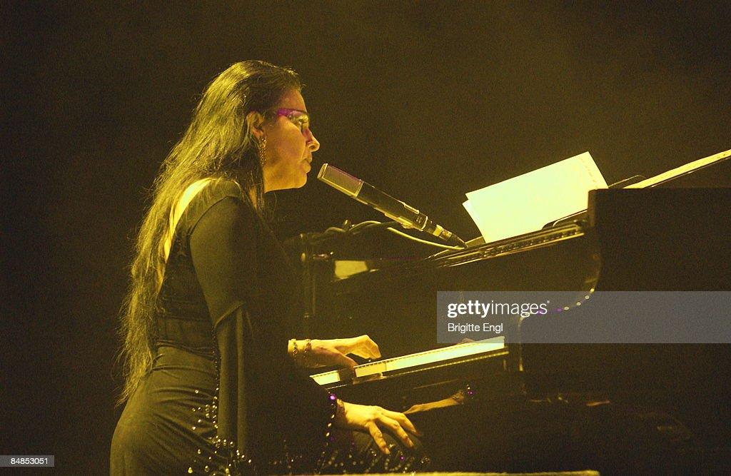 Photo of Diamanda GALAS, performing live onstage News Photo