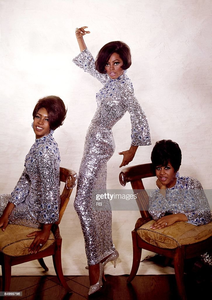 Photo of Diana ROSS and Mary WILSON and SUPREMES and Cindy BIRDSONG : News Photo