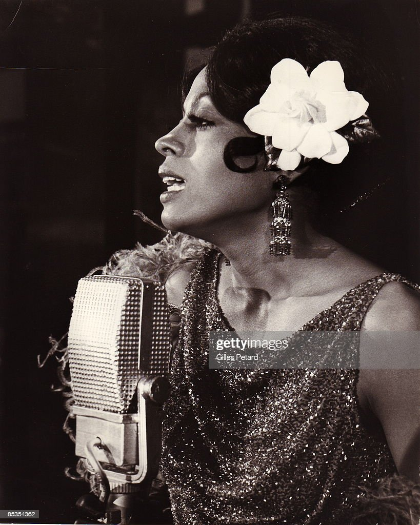 Photo of Diana ROSS; still from film 'Lady Sings The Blues'