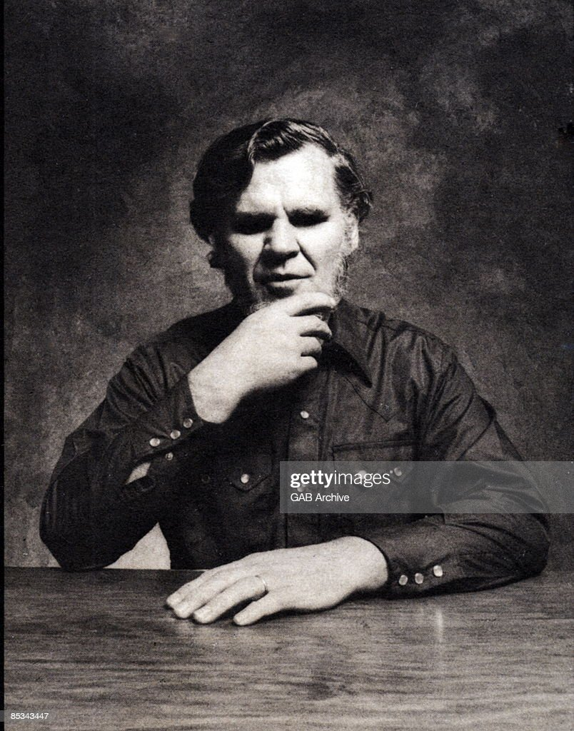 Photo of Doc WATSON; posed, studio