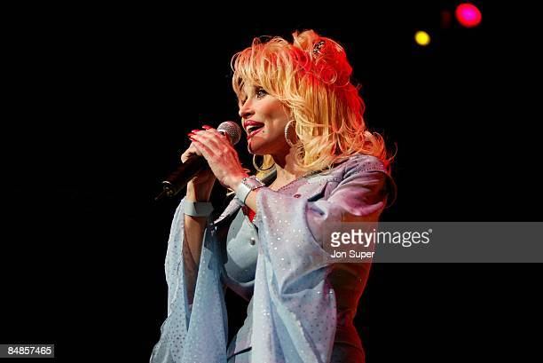 HALL Photo of Dolly Parton Pic for the Times Newspaper from Jim Sharp Redferns Pic shows Dolly Parton performing at the Manchester Bridgewater Hall...