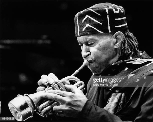 Photo of Don CHERRY Don Cherry performing on stage playing trumpet