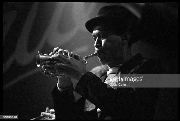 VENUE Photo of Don CHERRY Jazz musician Don Cherry performing on stage trumpet