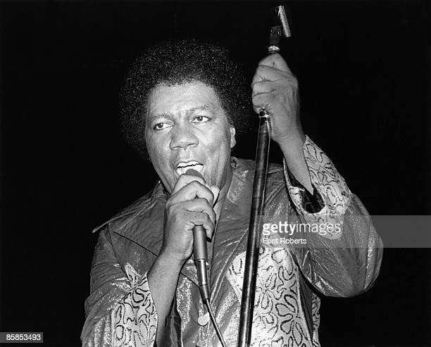 Photo of Don COVAY; Don Covay performing on stage