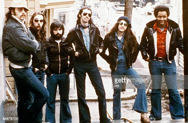 Photo of DOOBIE BROTHERS Posed group portrait of the Doobie Brothers