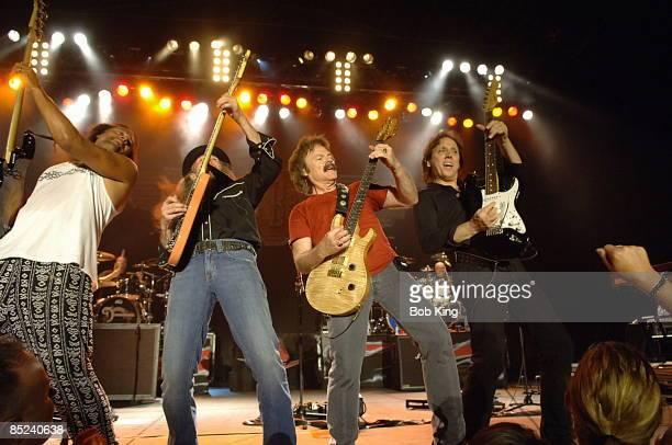 Photo of DOOBIE BROTHERS; Skylark, Pat Simmons, Tom Johnston & John McFee