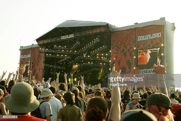 Photo of DOWNLOAD FESTIVAL and FANS and ROCK FANS and CROWDS