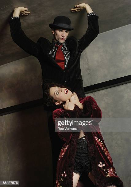 Photo of DRESDEN DOLLS Brian Viglione Amanda Palmer