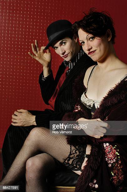 Photo of DRESDEN DOLLS LR Brian Viglione Amanda Palmer