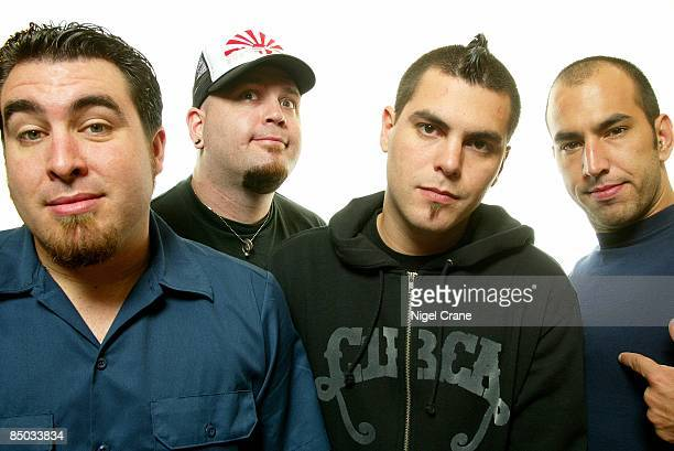 Photo of Dryden MITCHELL and ALIEN ANT FARM and Mike COSGROVE and Joe HILL LR Tye Zamora Joe Hill Dryden Mitchell Mike Cosgrove