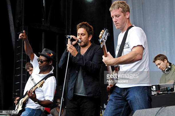 FESTIVAL Photo of DUB PISTOLS and Terry HALL and Jason O'BRYAN Terry Hall and Jason O'Bryan performing on stage