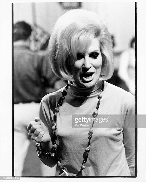 Photo of Dusty SPRINGFIELD performing at Television House Kingsway in 1964