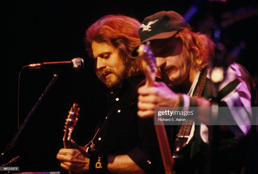 Photo of EAGLES and Don FELDER and Joe WALSH : News Photo