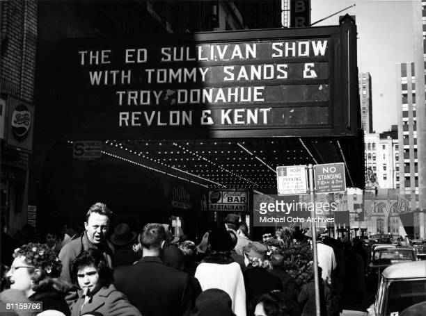 Photo of Ed Sullivan Show