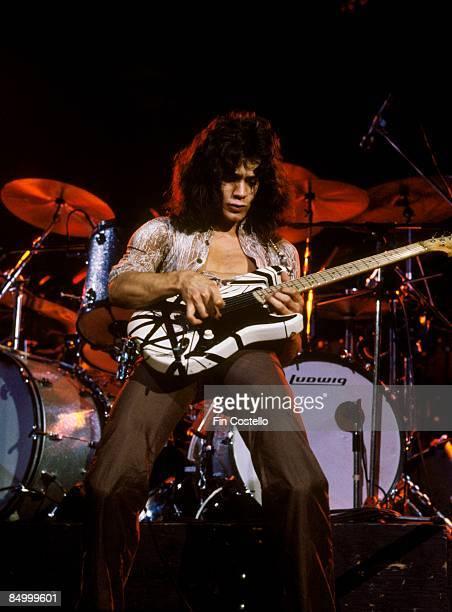 ODEON Photo of Eddie VAN HALEN and VAN HALEN Eddie Van Halen performing live onstage
