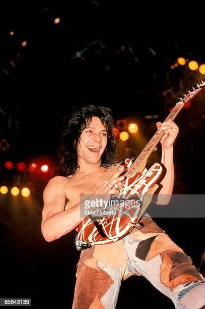 Photo of Eddie VAN HALEN and VAN HALEN; Eddie Van Halen