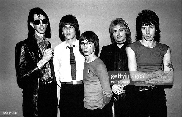 UNITED STATES JANUARY 01 USA Photo of Elliot EASTON and CARS and David ROBINSON and Greg HAWKES LR Ric Ocasek Elliot Easton Greg Hawkes Benjamin Orr...