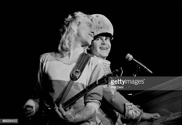 ARENA Photo of Elton JOHN and Davey JOHNSTONE w/Davey Johnstone