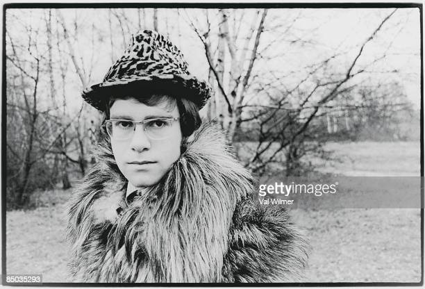 Photo of Elton JOHN; First publicity pictures - in Hampstead