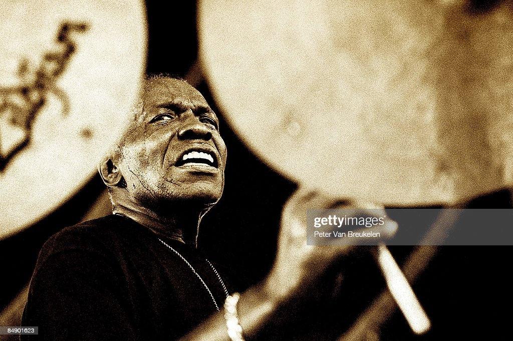 FESTIVAL Photo of Elvin Jones, At the 'North Sea Jazz Festival' The Hague /Holland