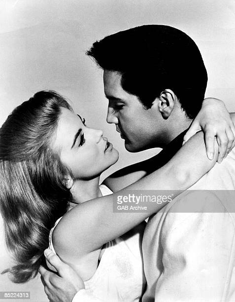 USA Photo of Elvis PRESLEY and Ann MARGARET posed with AnnMargaret in the film 'Viva Las Vegas'