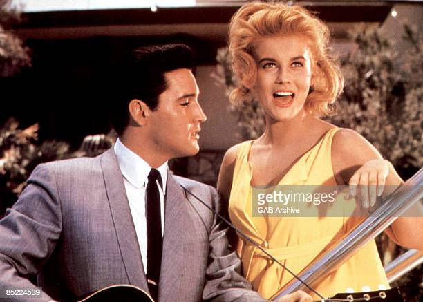 USA Photo of Elvis PRESLEY and Ann MARGARET with Ann Margaret in the film 'Viva Las Vegas'
