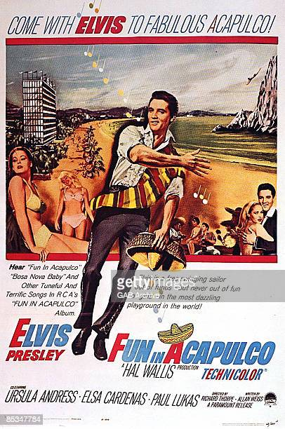 Photo of Elvis PRESLEY Film poster for Fun In Acapulco
