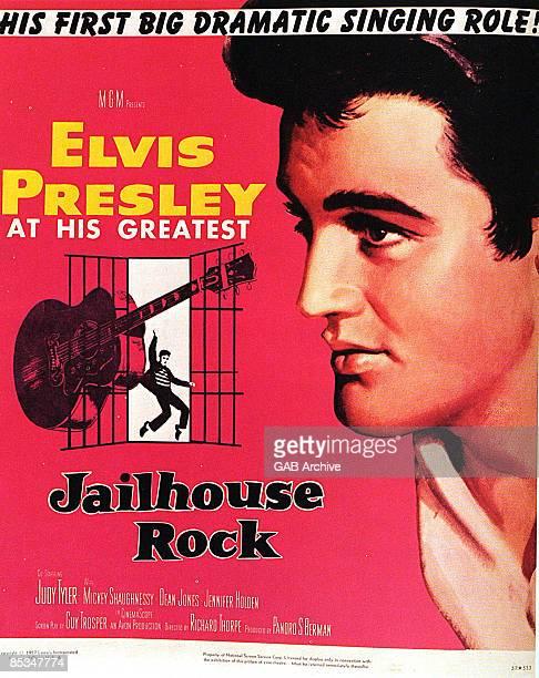 Photo of Elvis PRESLEY Film poster for Jailhouse Rock