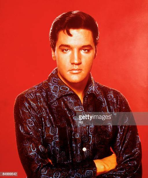 USA Photo of Elvis PRESLEY Posed studio portrait of Elvis Presley cearly 1960s