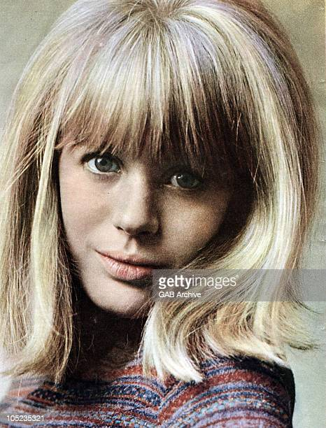 Photo of English singer Marianne Faithfull