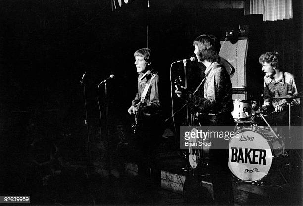 MARQUEE Photo of Eric CLAPTON and CREAM and Jack BRUCE and Ginger BAKER LR Jack Bruce Eric Clapton Ginger Baker performing live onstage group shot