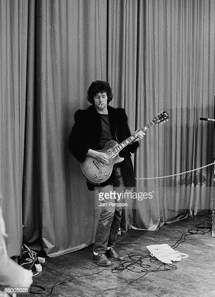 Photo of Eric CLAPTON and CREAM Eric Clapton performing live onstage playing Gibson Les Paul guitar