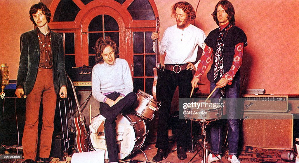 Photo of Eric CLAPTON and Ginger BAKER and Steve WINWOOD and BLIND FAITH : News Photo