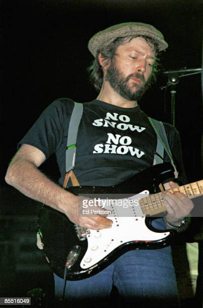 COLISEUM Photo of Eric CLAPTON Eric Clapton performing on stage