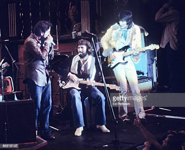 BALLROOM Photo of Eric CLAPTON Eric Clapton @ The Band's Last Waltz Winterland Arena San Francisco LR Paul Butterfield Eric Clapton Ron Wood