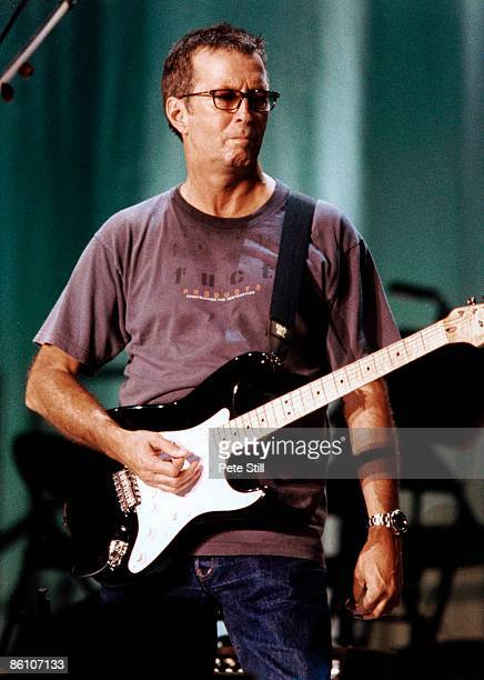 Photo of Eric CLAPTON performing live onstage c1997/1998