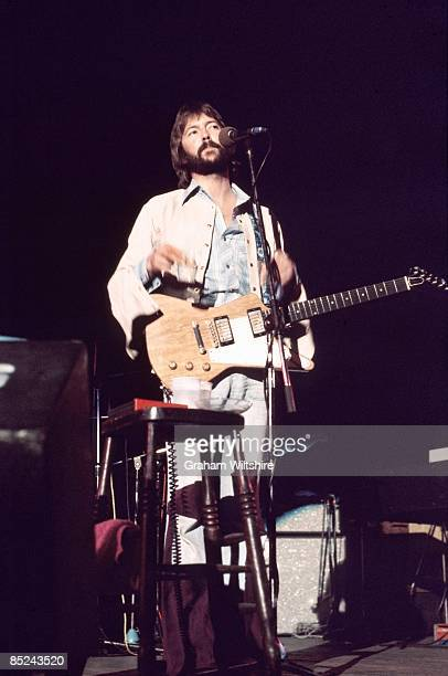 THEATRE Photo of Eric CLAPTON performing live onstage