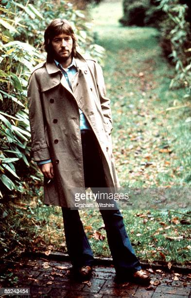 Photo of Eric CLAPTON posed at home in Ewhurst Surrey full length